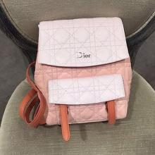 Fashion Designer for Dior Cannage Stitched Sequin And Flower Backpacks for Shoppin