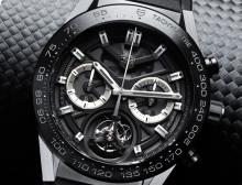 TAG Heuer Carrera Heuer-02T Tourbillon Watch Officially Announced At $15,950 Watch Releases